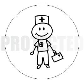Zdravotník – panáček